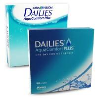 Dailies Aqua Comfort Plus napi kontaktlencse 90db